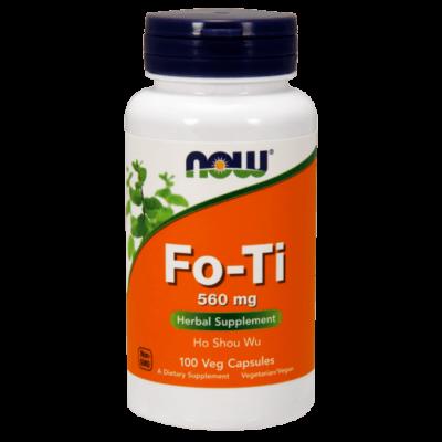 Now Foods Fo-Ti 560 mg 100 kapszula