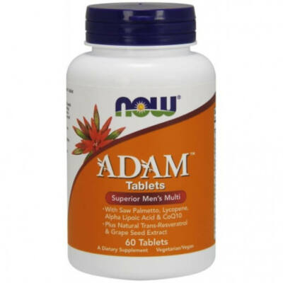 Now Foods ADAM Superior Men's Multiple Vitamin - 60 Tablets