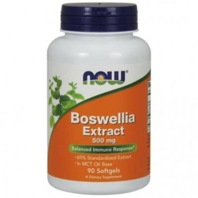 Now Foods Boswellia Extract 500 mg - 90 Softgels