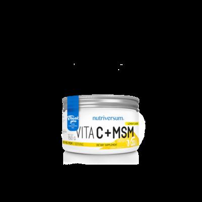 C+MSM - 150 g - VITA - Nutriversum - citrom