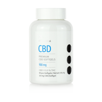 USA medical 900mg CBD kapszula - 90 db