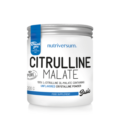 Nutriversum Citrulline Malate - 200 g - BASIC - ízesítetlen