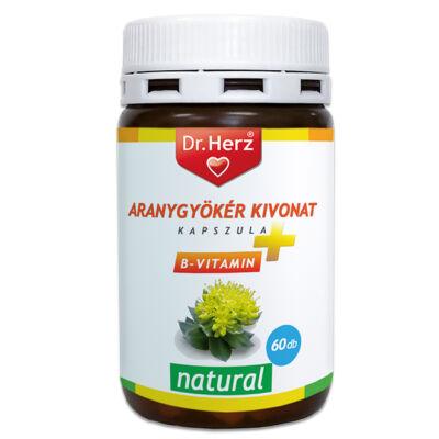 Dr. Herz Aranygyökér + B vitamin kapszula 60 db