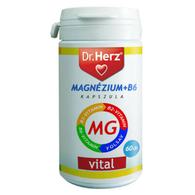 Dr. Herz Magnézium+B6 60 db kapszula