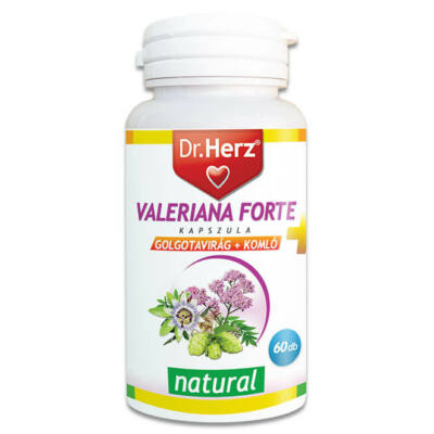 Dr. Herz Valeriana Forte 60db kapszula
