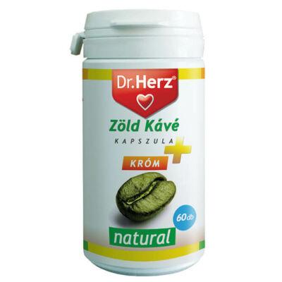 Dr. Herz Zöld Kávé + Króm + C-Vitamin kapszula 60db