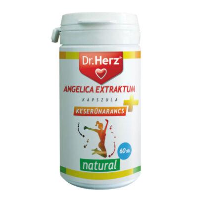 Dr. Herz Angelica Extraktum+ Keserűnarancs kapszula 60 db
