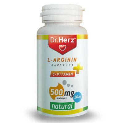 Dr. Herz L-Arginin + C-vitamin 500mg kapszula
