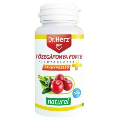 Dr. Herz Tőzegáfonya Forte + Aranyvessző 60db tabletta
