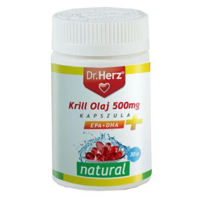 Dr. Herz Krill Olaj kapszula 500mg 30db