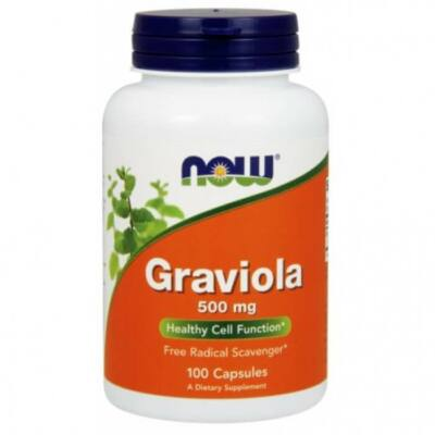 Now Foods Graviola 500mg (100 kapszula)