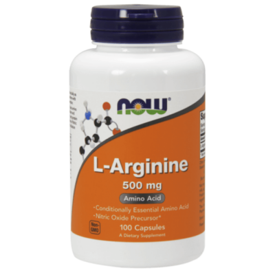 Now Foods L-Arginine 500 mg - 100 Capsules