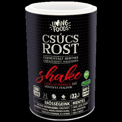 Living Foods Csúcs Rost Shake erdei gyümölcsös 600 g