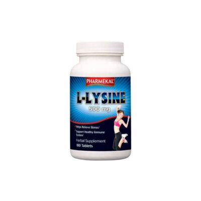 Pharmekal L-Lizin 500 mg 100 db