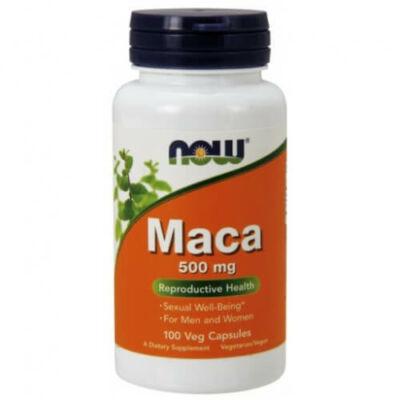 Now Foods Maca 500 mg 100 kapszula