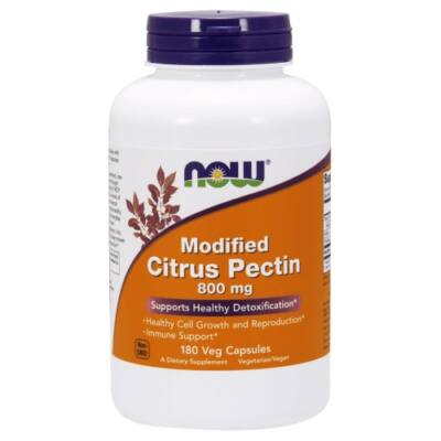 Now Foods Modified Citrus Pectin 800 mg Veg Capsules