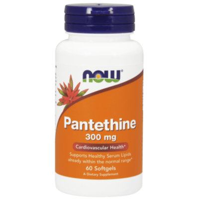 Now Foods Pantethine 300 mg - 60 Softgels