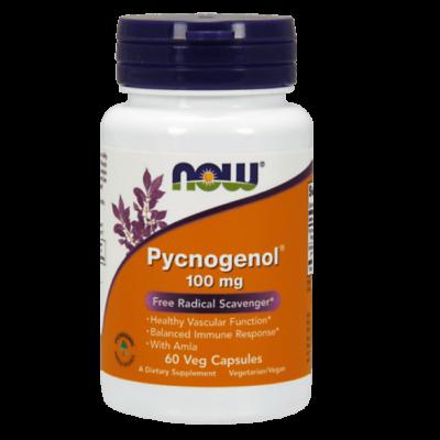 Now Foods Pycnogenol® 100 mg - 60 Veg Capsules