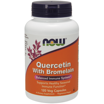 Now Foods Quercetin with Bromelain - 120 Veg Capsules