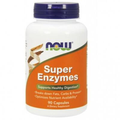 Now Foods Super Enzymes - 90 Capsules