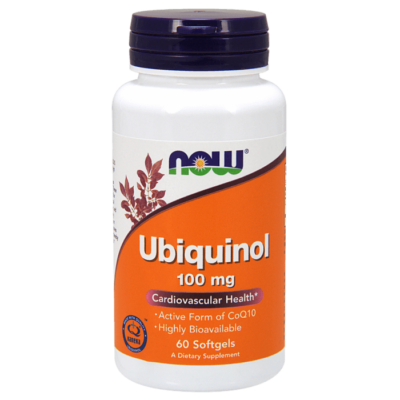 Now Foods Ubiquinol 100 mg - 60 Softgels