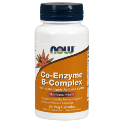 Now Foods Co-Enzyme B-Complex - 60 Veg Capsules