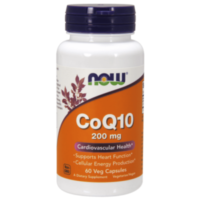 Now Foods CoQ10 200 mg - 60 Veg Capsules