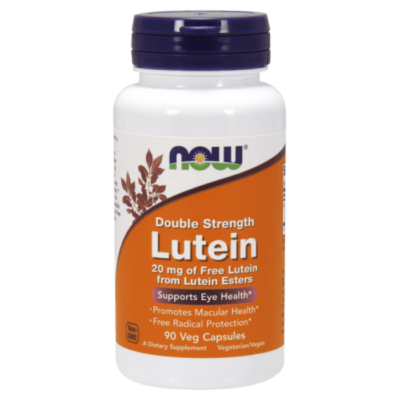 Now Foods Lutein 20 mg 90 Veg Capsules