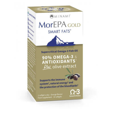 Minami Nutrition MorEPA Gold Smart Fats 30 db