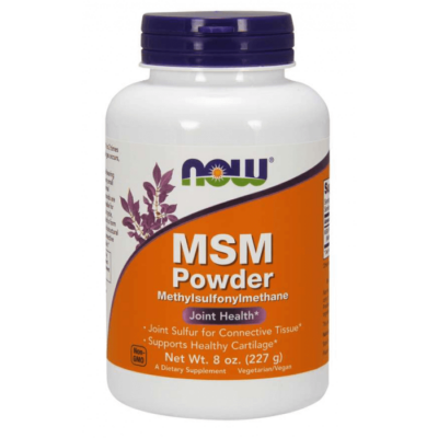 Now Foods MSM Powder 8 oz. (227 g)