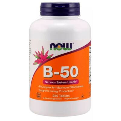 Now B-50 - 250 Tablets