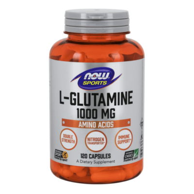 Now Foods L-Glutamine 1000 mg - 120 Capsules