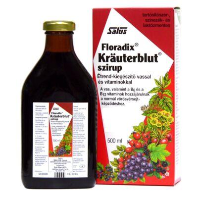 Salus Floradix Krauterblut szirup 500 ml