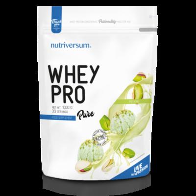 Nutriversum Whey PRO - PURE – pisztácia 1000 g