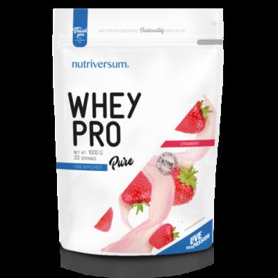 Nutriversum Whey PRO - PURE - Több ízben  1000 g
