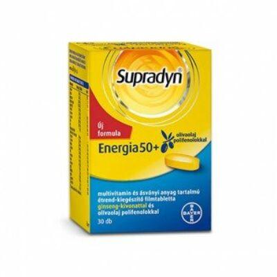 Supradyn Energia 50+ filmtabletta 30x